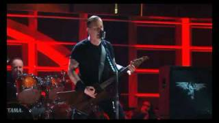 u2 and metallica the 25th anniversary rock and roll hall