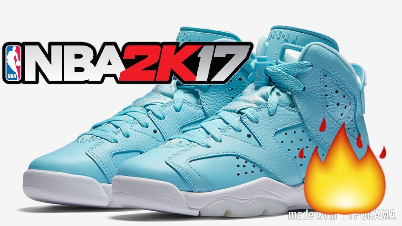HOW TO MAKE JORDAN 6 STILL BLUE | NBA 2K17