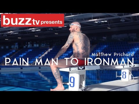 'Pain man to Ironman'  with Dirty Sanchez's Matthew Pritchard