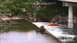 5-31-15 Flint Creek Dam, OK Drowning *James Hilger*