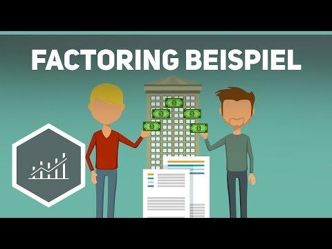 factoring an einem beispiel einfach erklrt - Factoring Beispiel