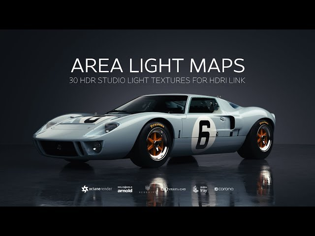 Area Light Maps for HDRI Link | Greyscalegorilla