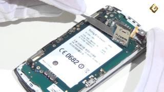 Sony Ericsson Xperia PLAY - как разобрать телефон, из чего состоит(Подписаться Вконтакте: http://vk.com/goldphone_tv Другие обзоры на сайте http://goldphone.tv/ Запчасти на сайте http://a541.ru Подробн..., 2011-07-07T03:02:49.000Z)