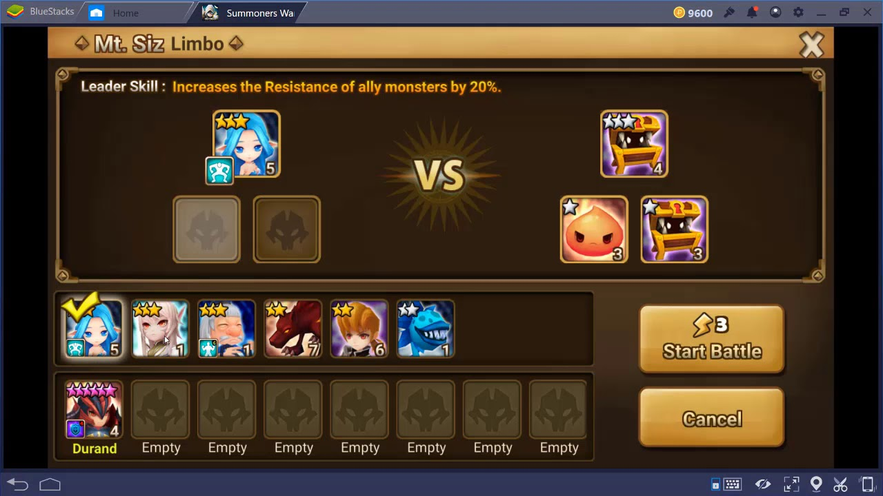 New Summoners War 4 1 3 (MOD, Low Enemy HP) Mega nz Link!