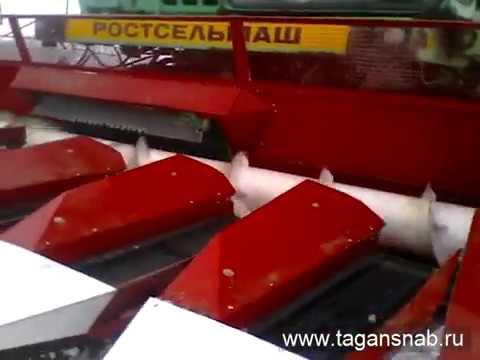 Жатка ПСП-10 Www Tagansnab Ru