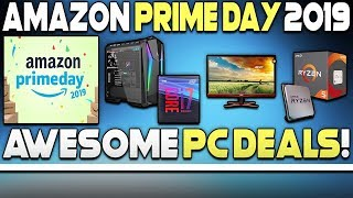 AWESOME AMAZON PRIME DAY 2019 PC DEALS + CYBERPUNK 2077 ON CHEAP PC!