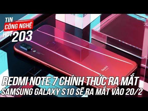Xiaomi Redmi Note 7 Chính Thức Ra Mắt, Giá Chỉ 3,4 Triệu Cho Camera 48MP | Tin Công Nghệ Hot Số202