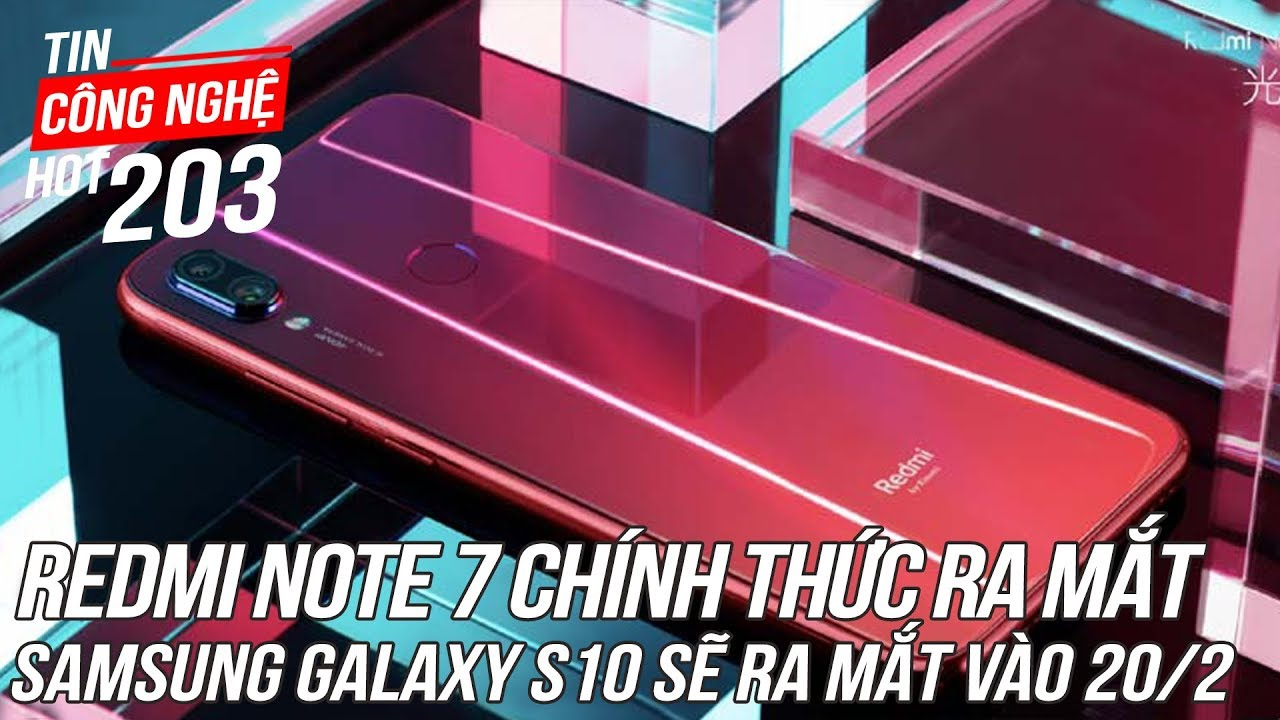 Xiaomi Redmi Note 7 chính thức ra mắt, giá chỉ 3,4 triệu cho camera 48MP   Tin Công Nghệ Hot Số202