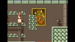 Super Mario Bros. The Lost Levels (SNES Game) - World 3-4 playthrough