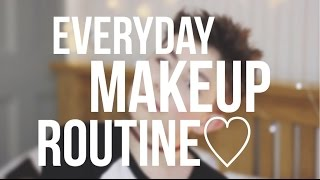 Spring Everyday Makeup Routine | Teenage Boy