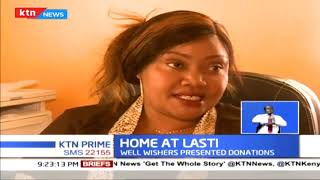 Governor Sonko's wife comes to the aid of Ishmael Abdala's family that was living in a car