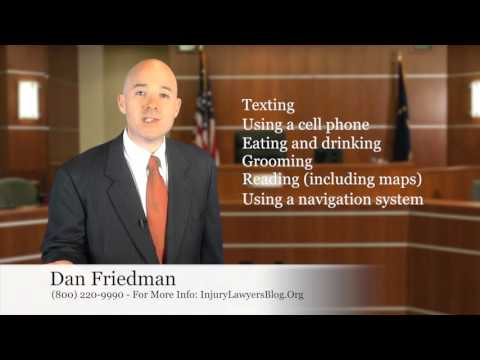 Lawyer Nebraska talks about Distracted Driving such as Texting and Driving