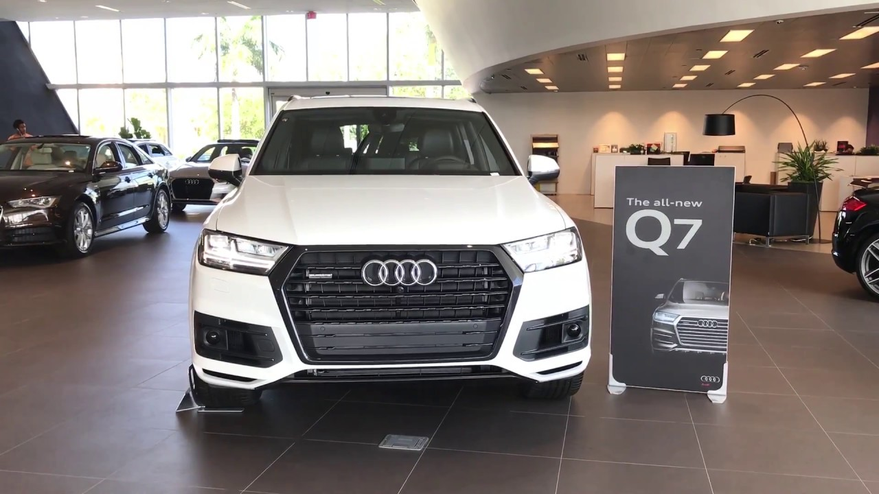 2017 Audi Q7 Quattro Prestige Titanium Black Optic Package