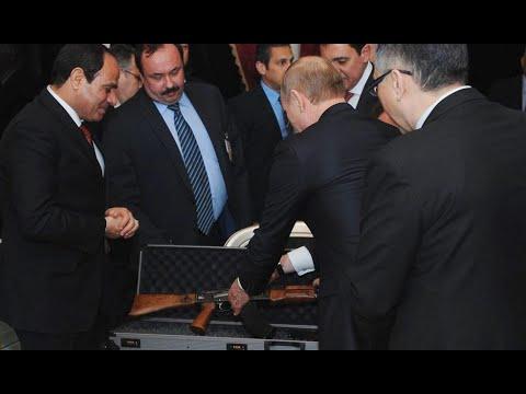 Putin gifts Kalashnikov to Egypt president al-Sisi
