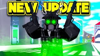 INSANE NEW WEAPONS UPDATE! (ROBLOX Mad City)
