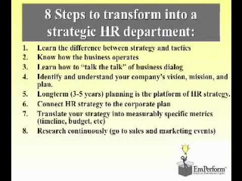 Strategic Hr Planning - Youtube
