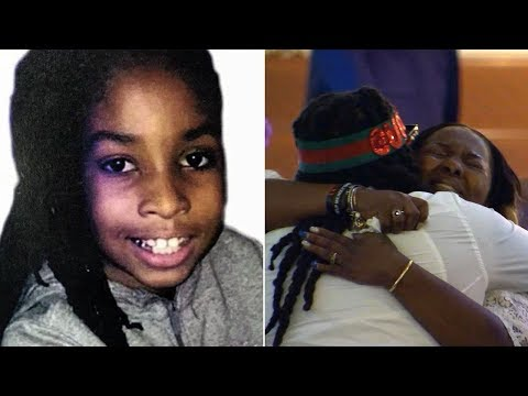 Funeral held for slain 10-year-old Makiyah Wilson