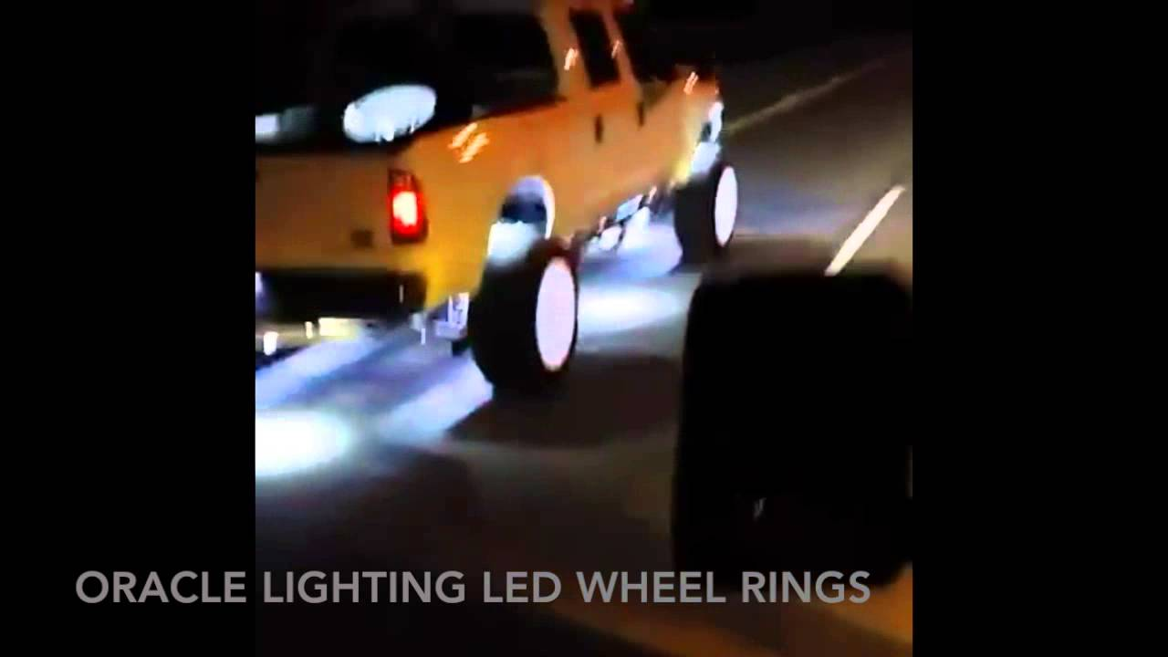 Oracle Ford F 250 Led Wheel Rings Youtube