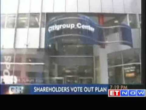 No pay hike for Citi executives as shareholders vote out plan