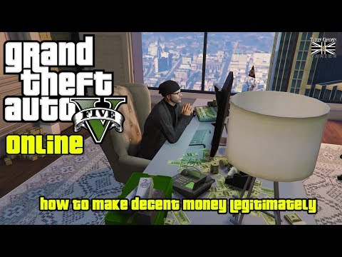 "GTA 5 Online: ""How To Make Decent Money Legitimately."" (CEO, Hanger, MC, Bunker)"