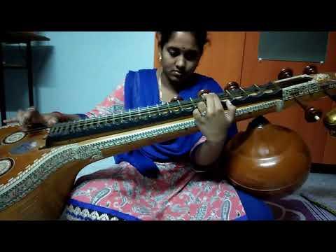Raksha raksha jaganmatha in VEENA