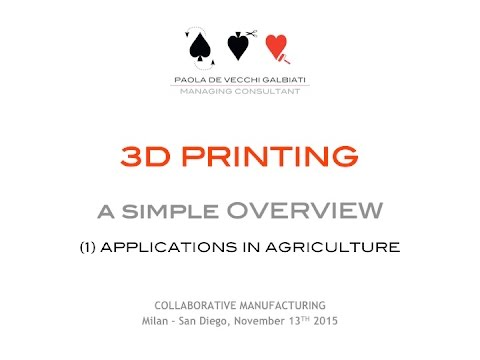 Pausa Caffé - 3D Printing and its application (1)