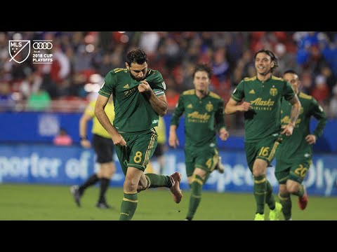GOLAZO | Diego Valeri puts the Timbers on the board against FC Dallas