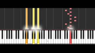 Naruto: Orochimaru Theme Piano 50% Speed Piano Synthesia