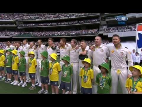 Boxing Day Test 2013 -  National Anthems, Australia and England (Ashes)
