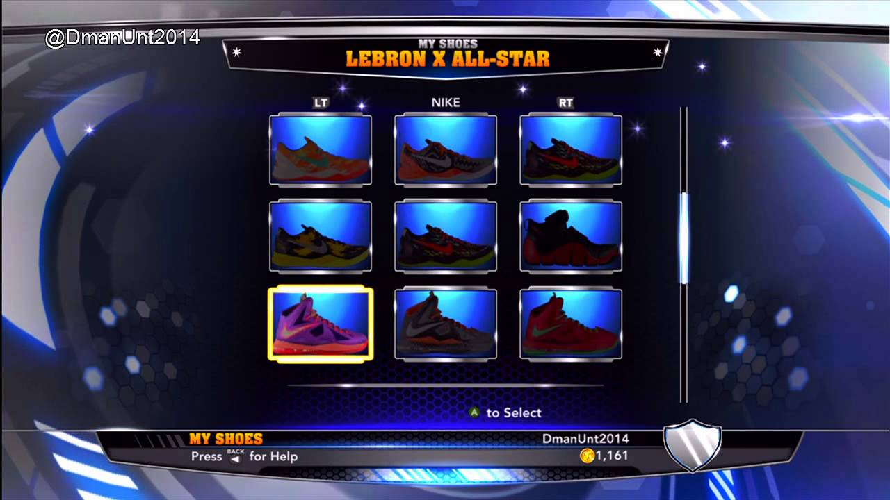 NBA 2K14: Every Shoe in NBA 2K14 - Nike