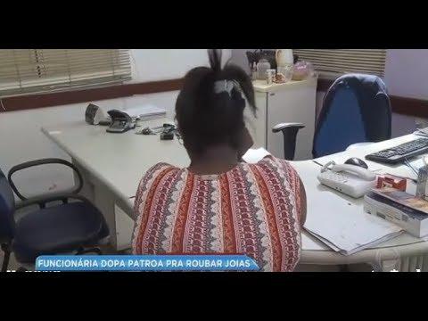 Empregada doméstica dopa patroa para roubar joias