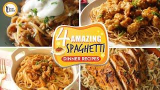 4 Amazing Spaghetti Recipes By Food Fusion