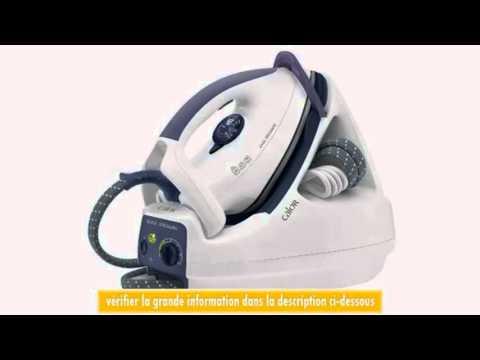 calor gv5245 centrale vapeur easy pressing - youtube