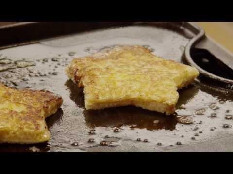 How to Make French Toast Stars | Christmas Recipes | Allrecipes.com