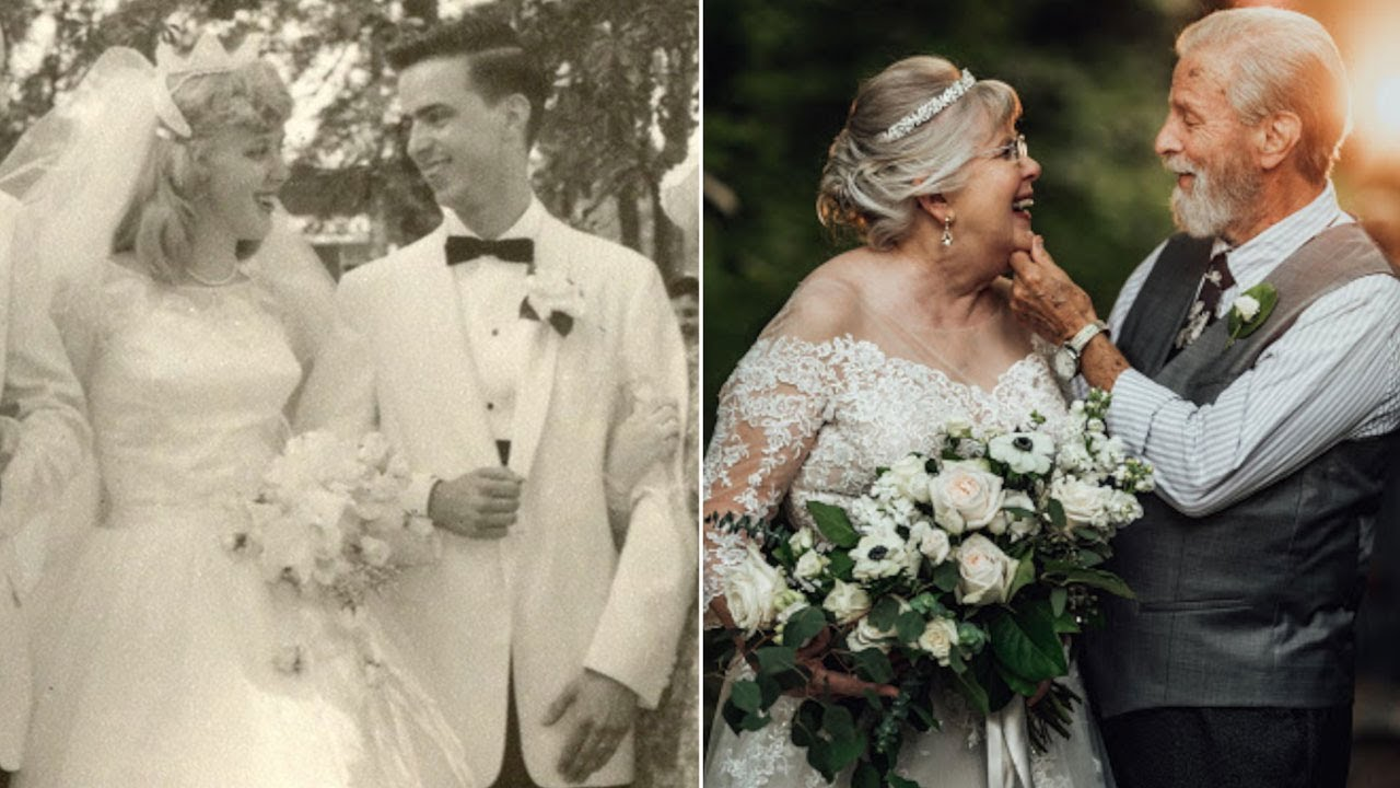 Couple Gets A 60 Year Anniversary Photoshoot By Their Granddaughter. - YouTube