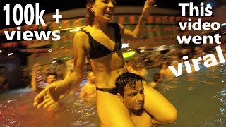Naughty fun - Pool Party in Thailand