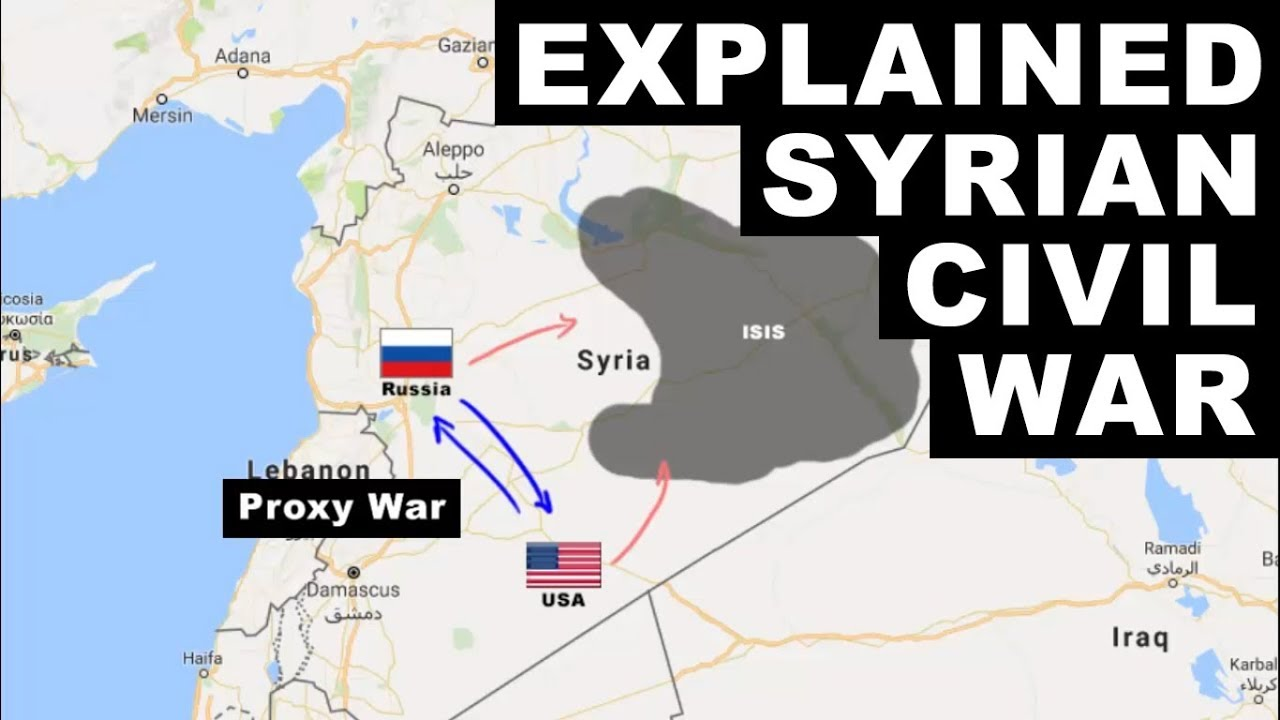 syrian civil war explained who is fighting and why upsc civil