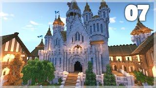 minecraft castle medieval tutorial build huge