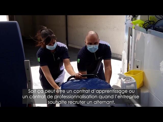 François BANCHEREAU Directeur des Instituts de Formation d'Ambulanciers nous présente l'alternance