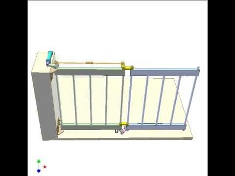 Bi Folding Gate 2 Youtube