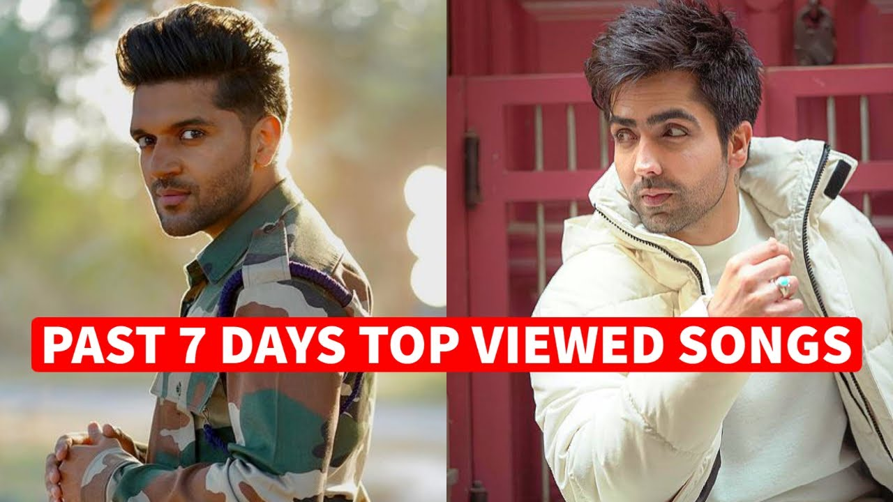 Past 7 Days Most Viewed Indian Songs on Youtube [18 January 2021]