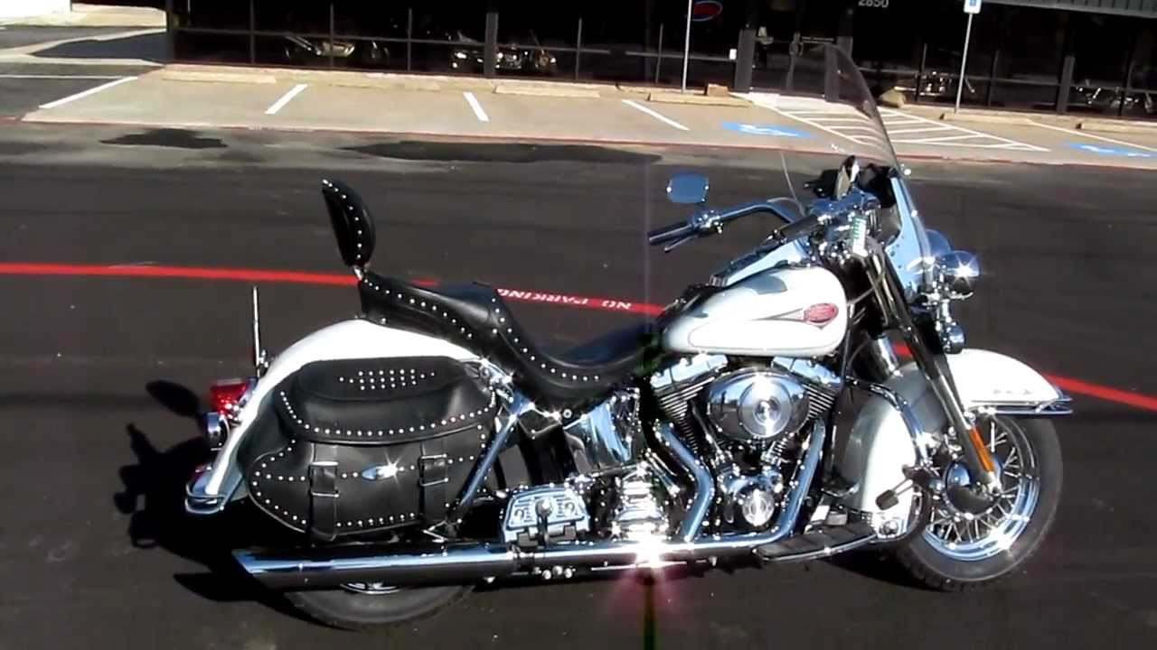 Best Used Motorcycles >> 2001 Harley-Davidson Heritage Softail FLSTC For Sale - YouTube