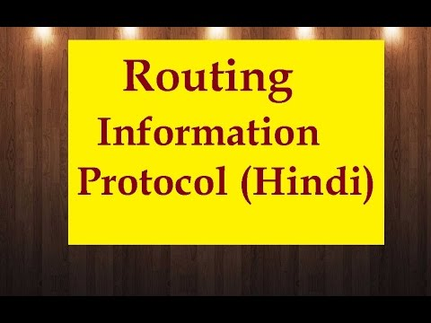 Routing Information Protocol - RIP Theory ( In Hindi Urdu )