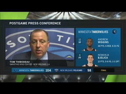 Timberwolves' Thibodeau: 'Our bench was terrific'