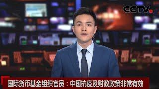 [中国新闻] 国际货币基金组织官员:中国抗疫及财政政策非常有效 | 新冠肺炎疫情报道