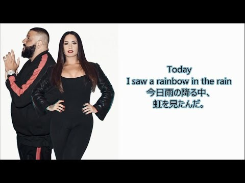 洋楽 和訳 DJ Khaled - I Believe ft. Demi Lovato