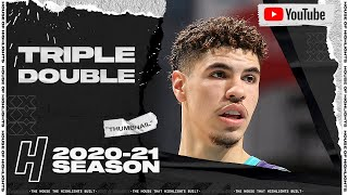 LaMelo Ball First Career Triple-Double 22 Pts 12 Reb 11 Ast vs Hawks | January 9, 2021