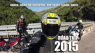 2000km Motorcycle Road Trip At Dalmatian Coast 2015 - Gopro