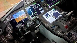 Boeing Dreamliner 787 - PLL Lot - prezentacja - Bydgoszcz - kabina pilotów - review - SP - LRA