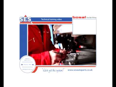 Bosal Towbar Fitting Demonstration Video  sc 1 st  YouTube : bosal towbar wiring diagram - yogabreezes.com